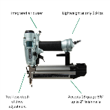 Brad Nailer with Features