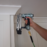 Professional Brad Nailer in Action