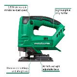 Cordless Jig Saw with Callouts