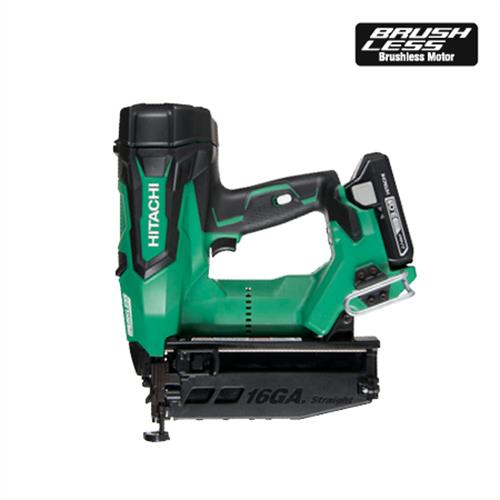 "NT1865DM 2-1/2"" 18V Brushless Lithium Ion 16Ga Straight Finish Nailer"