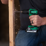 Sub Compact Cordless Drill in action