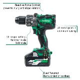 36 Volt Hammer Drill with Callouts