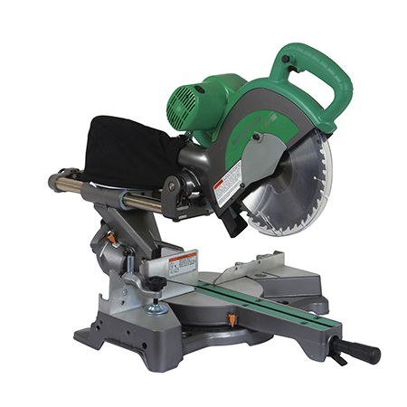 "Metabo HPT 10"" Sliding Dual Compound Miter Saw"