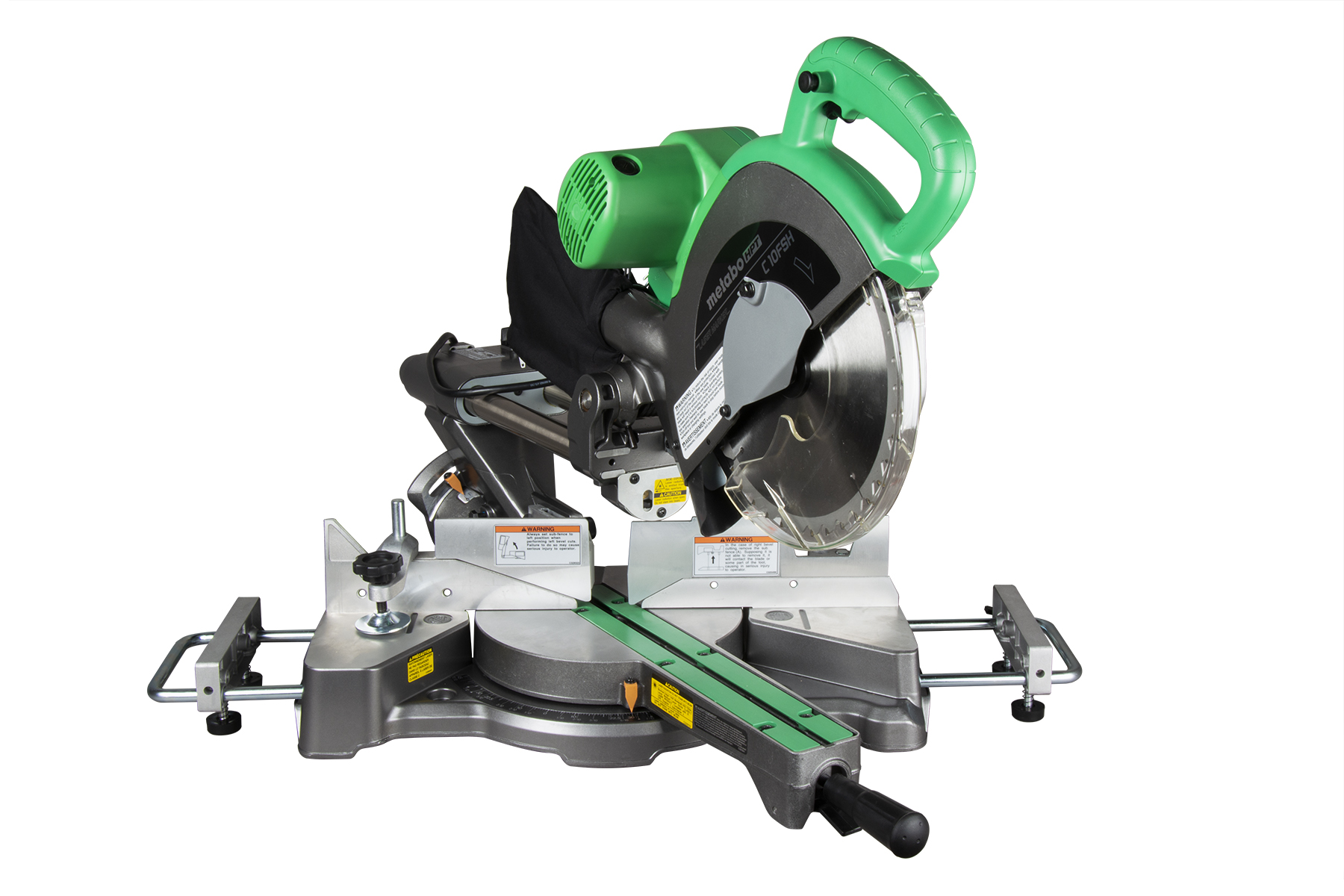 10 Sliding Dual Compound Miter Saw With Laser Marker C10fsh S Metabo Hpt