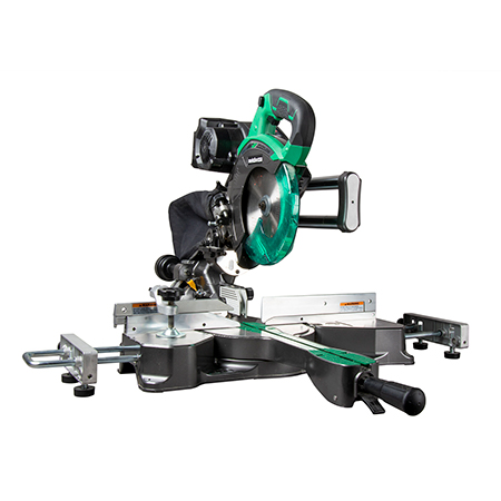 "Metabo HPT 36V MultiVolt Brushless 7-1/4"" Dual Bevel Sliding Miter Saw"