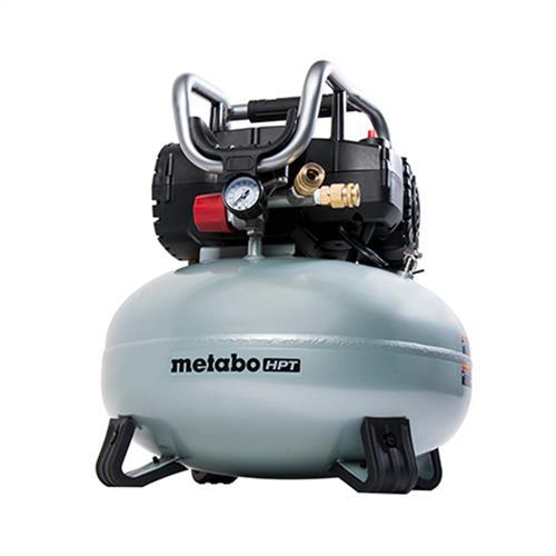 Portable 6 Gallon Oil Free Pancake Compressor Metabo Hpt Ec710s