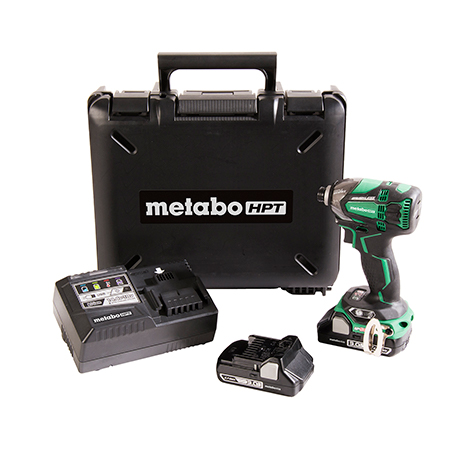 Metabo HPT 18V Lithium Ion Brushless Triple Hammer Impact Driver