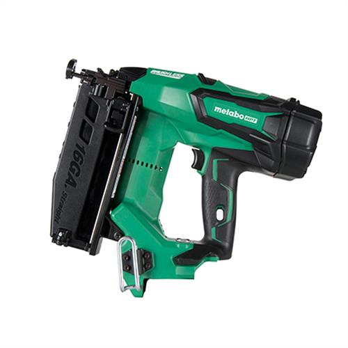 "Metabo HPT 2-1/2"" 18V Brushless Lithium Ion 16Ga Straight Finish Nailer (Tool Body Only)"