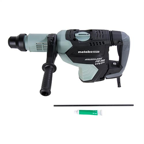 "Metabo HPT 1-3/4"" AC Brushless, AHB Aluminum Housing Body, UVP User Vibration Protection, AC/DC SDS Max Rotary Hammer"