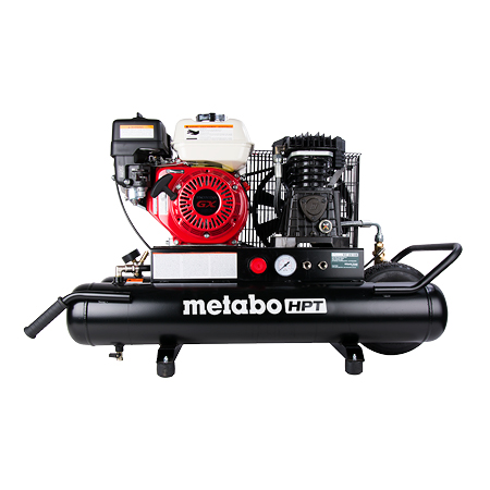 Metabo HPT 8-Gallon Gas Powered Wheeled Air Compressor