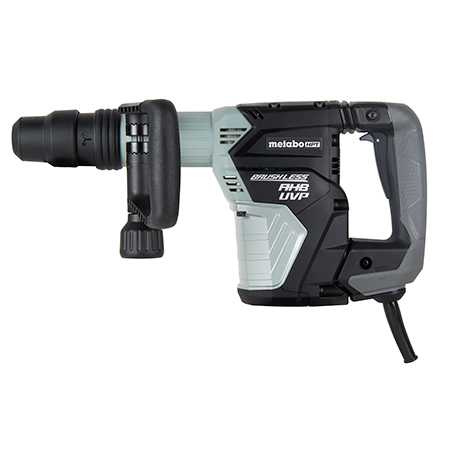 Metabo HPT AC Brushless, AHB Aluminum Housing Body, UVP User Vibration Protection, AC/DC 16 lb SDS Max Demolition Hammer