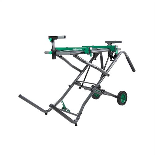 Metabo HPT Fold & Roll Universal Miter Saw Stand