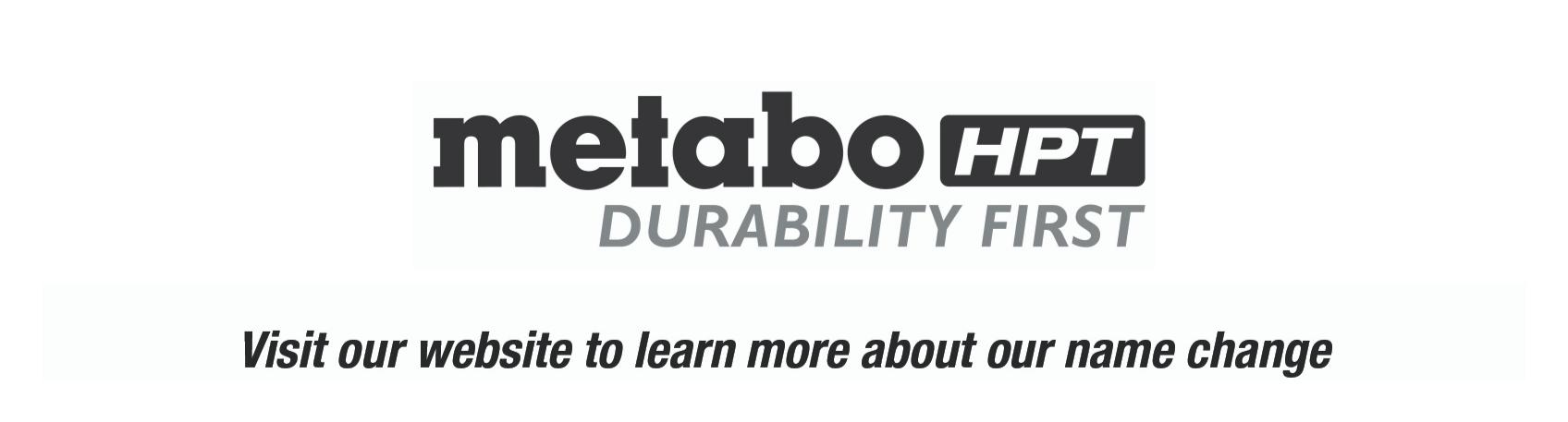 Metabo HPT Sticker Mock up_Durability