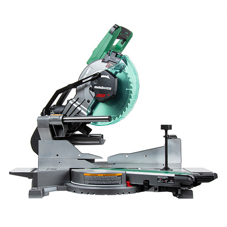 "Metabo HPT 36V MultiVolt Brushless 10"" Dual Bevel Sliding Miter Saw C3610DAQ4 angle image"