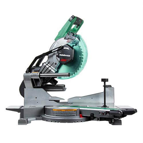 Metabo HPT 36V MultiVolt Brushless 10  Dual Bevel Sliding Miter Saw C3610DAQ4 angle image