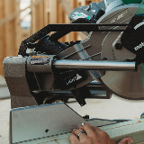 MultiVolt 36V Cordless Miter Saw rail