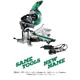 MultiVolt 36V Cordless Miter Saw with name change
