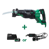 MultiVolt Reciprocating saw with Battery or AC Adapter