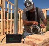 MultiVolt Circular Saw in Action