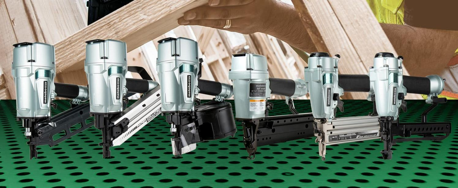 A5 series framing and finish nailers Metabo HPT