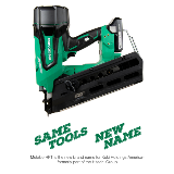 Cordless Framing Nailer Name Change