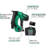 Cordless 18 Gauge Nailer with Callouts