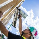 Paper Collated Framing Nailer Action