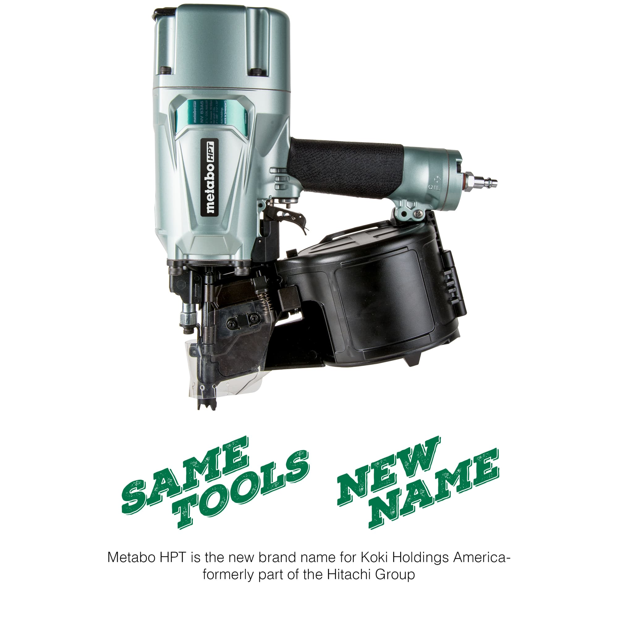 NV83A5 Framing Nailer with Name Change Logo