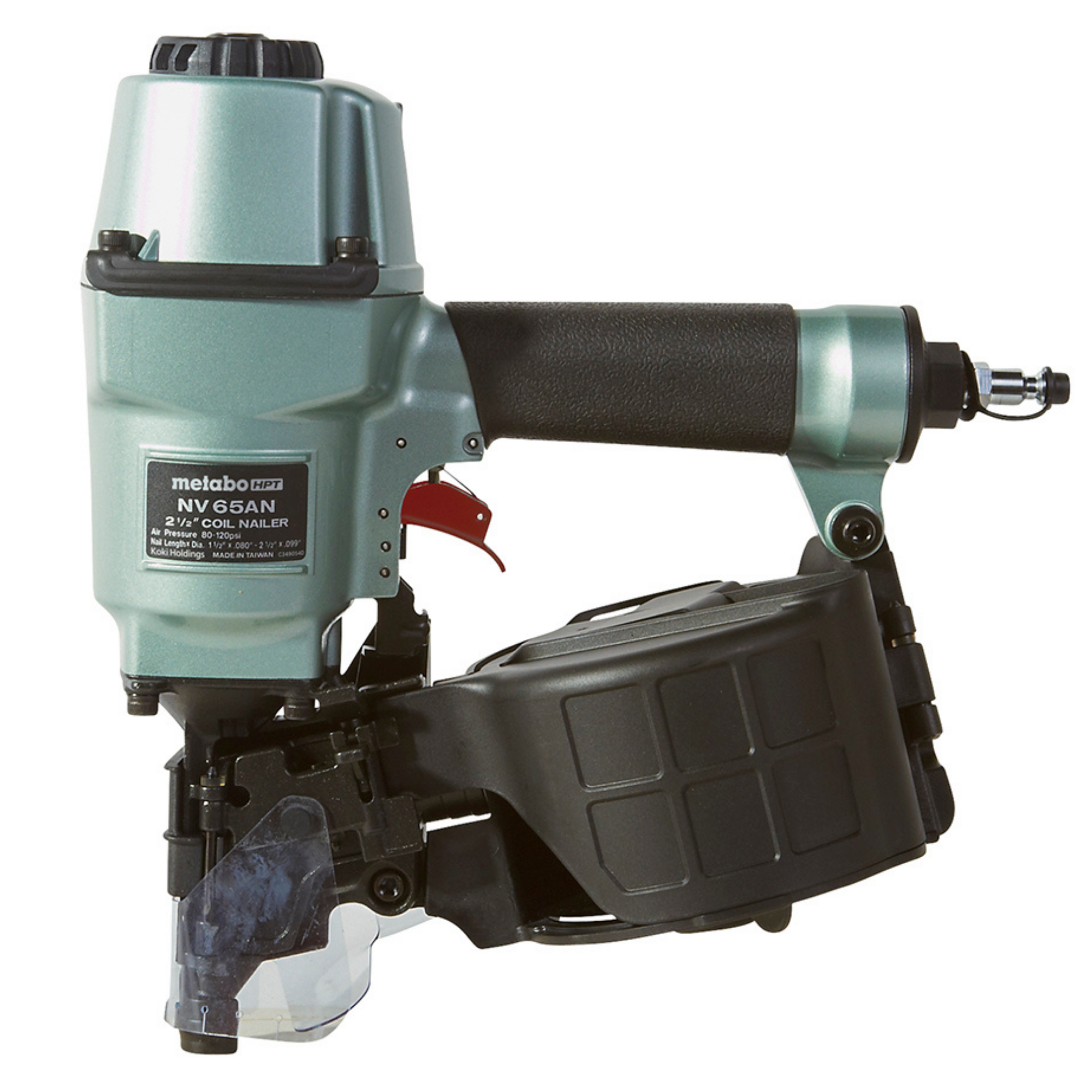 Metabo HPT Pallet Nailer Side