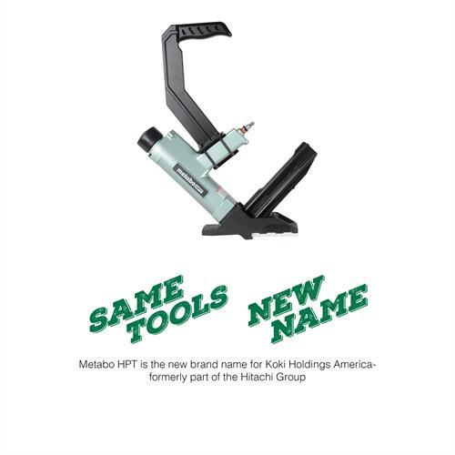 """Metabo HPT 2"""" 15.5-Gauge 1/2"""" Crown Flooring Stapler"""