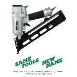 "Metabo HPT 2-1/2"" 15-Gauge Angled Finish Nailer with Air Duster"