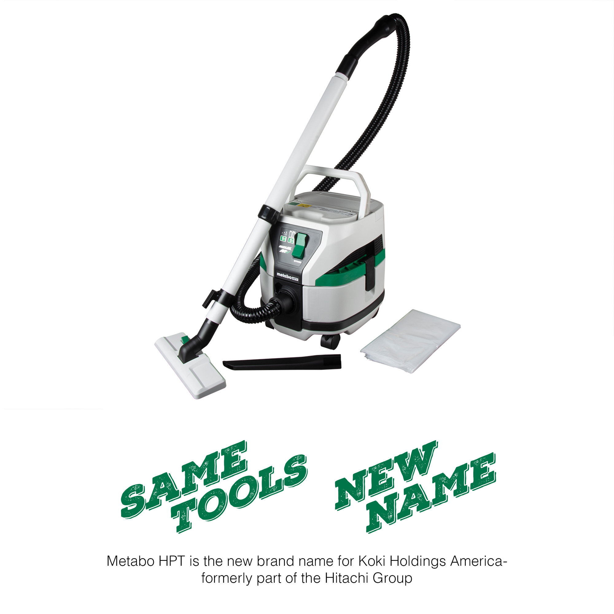 Metabo HPT 36V Brushless Wet/Dry Pod Style Vacuum (Tool Body Only)