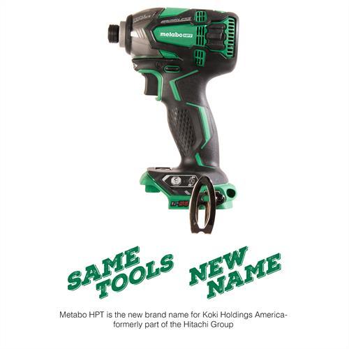 Metabo HPT 18V Lithium Ion Brushless Triple Hammer Impact Driver (Tool Body Only)
