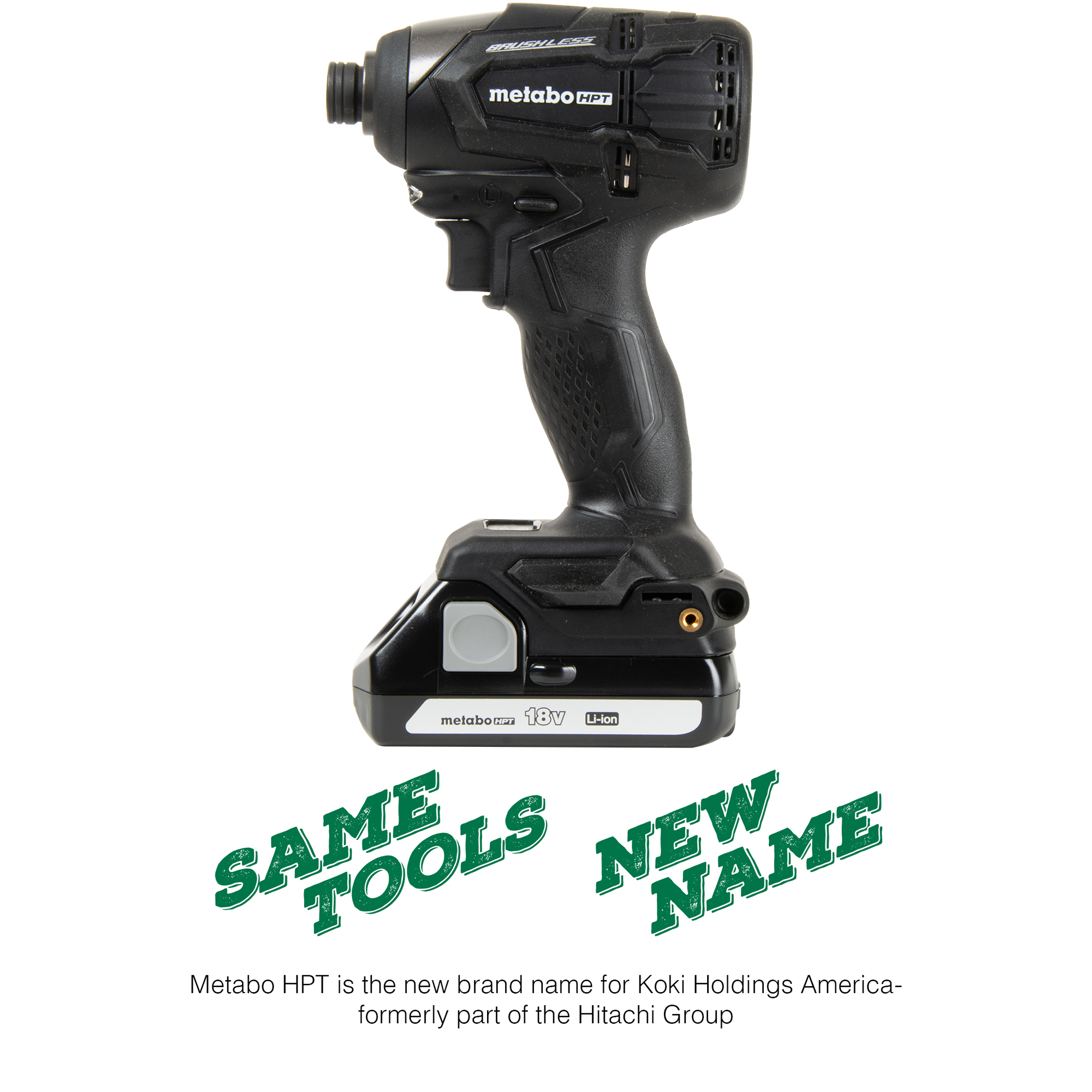 Metabo HPT 18V Lithium Ion Brushless Impact Driver