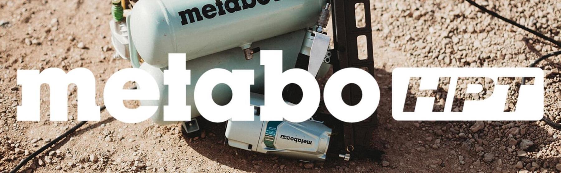 Metabo HPT Compressor Banner
