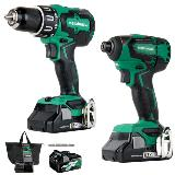 Cordless Impact Driver and Drill Kit
