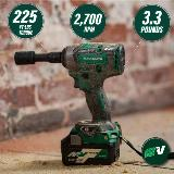 Cordless Impact Wrench with callouts