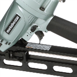 Angled Finish Nailer with Air Duster Detail