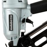 Angled Finish Nailer with Air Duster Select Switch Detail