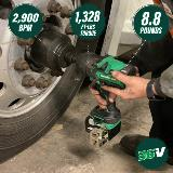 Brushless High-Torque Impact Wrench callouts