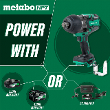 Brushless High-Torque Impact Wrench power