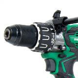 Brushless Power Drill Chuck Detail