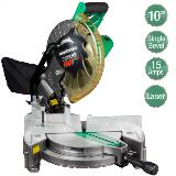 10 Inch Miter Saw with features