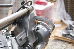 8 inch miter saw bevel