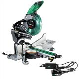 MultiVolt Cordless 10 Inch Miter Saw with Ac Adapter