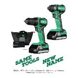 Cordless Impact Driver and Drill Kit Name Change