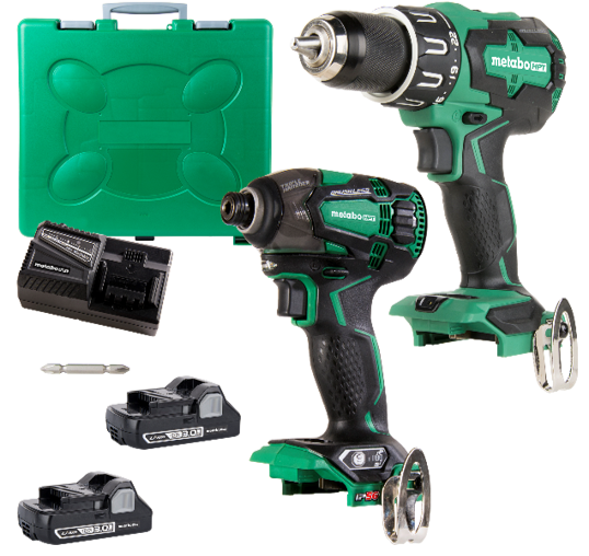 Impact and Hammer Drill Kit