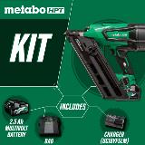Cordless Metal Connector Kit includes