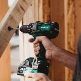36V Cordless Hammer Drill Action