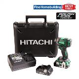 Hitachi WH18DBDL2 triple impact driver w/ carrying case Fine Home award image
